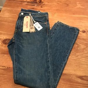 NWT Levi's  White Oak Cone Denim 511 Slim